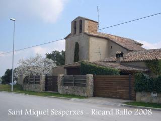 Camí al Castell de Berti-Sant Miquel Sesperxes.