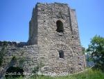 Castell de Besora - Església de Santa Maria, l'element més significatiu del conjunt.