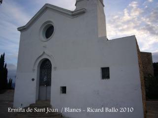 Blanes - Ermita de Sant Joan Baptista - Segle XI.