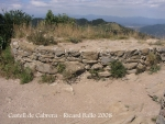Castell de Cabrera - restes.
