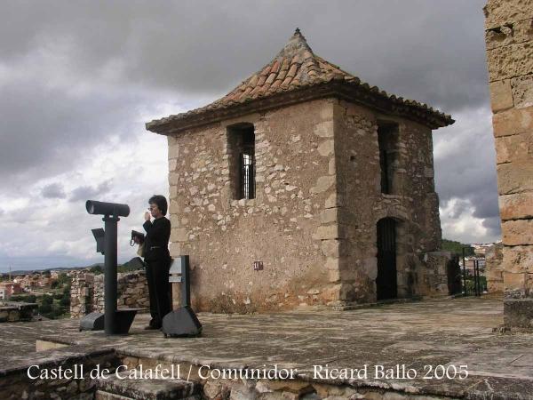 Castell de Calafell - Comunidor.