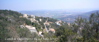 Vistes des del castell de Castellbarri.