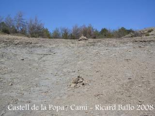 Castell de Castellcir - Camí - Fites.