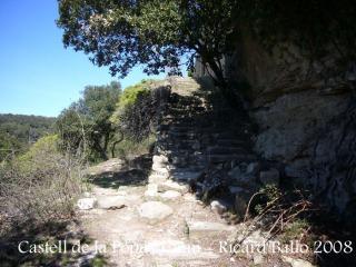 Castell de Castellcir - Camí - Escales d'accés al castell.