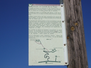Castell de Castellcir - Inici camí.