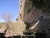 Castell de Castellcir, també conegut com a Castell de La Popa. Escales d'accés a l'edificació.