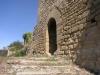 Castell de Castellcir, també conegut com a Castell de La Popa. Porta d'entrada a l'edificació.