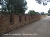 Castell de Castelldefels - Passeig d'accés al castell