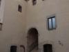 Castell de Castelldefels - Escales de la porta d'accés a la sala noble