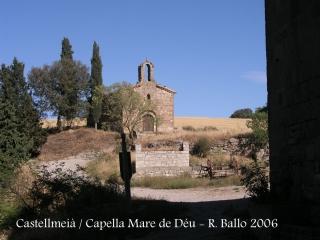 Castell de Castellmeià - Capella de la Mare de Déu de la llet.