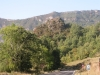 Castilló de Tor. Dalt d\'aquest primer turó, visible des de la carretera, és on hi ha les restes del Castell de Castilló de Tor.