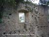 Castell de Centelles - Finestra amb festejador