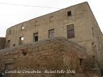 Castell de Concabella - Façana davantera.