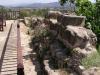 Castell de Corbera d'Ebre - Restes de murs