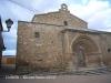 Cubells: Església de Santa Maria - Plaça del castell.