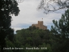 Castell de Farners - Vistes des del camí d\'accés.