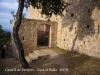 Castell de Farners  - Entrada.