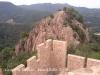 Castell de Farners - Vista del Turó del Vent, a tocar del castell.