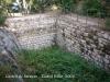 Castell de Farners - cisterna.