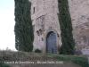 Castell de Fonolleres - Porta d\'entrada principal.