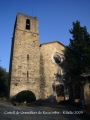 Castell de Granollers de Rocacorba - Església de Santa Maria.