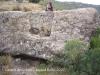 Castell de Grialó. Cisterna tallada a la roca.