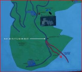 Camí al Dolmen de Serra Cavallera - Informació extreta parcialment d'un cartell que hi ha en aquest lloc.