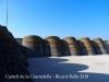 Castell de la Granadella - Dipòsit d'aigua
