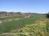 Vistes des del castell de la Móra - Al centre de la fotografia, apareix el castell de Fonolleres.