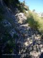 Camí a l'ermita de La Pertusa.