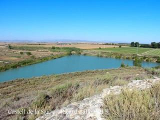 Vistes des del Castell de la Saida – Almacelles