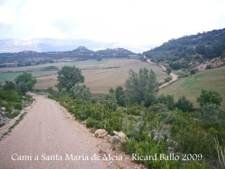 Camí a Santa Maria de Meià.
