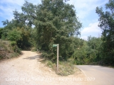 Camí al castell de La Vall D'Ariet.