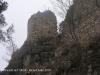 Castell de l'Albiol - muralla.