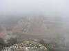 Vista de L'Albiol des del Castell de l'Albiol. Com és evident, hi havia una mica de boira.