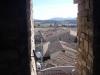 Vistes de l'Ametlla de Segarra des del castell