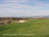 Castell de l\'Aranyó. A la dreta de fotografia, el castell de Montcortès.