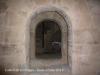 Castell de Les Sitges. Primitiva porta d\'accés a la torre mestra.