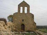 Castell de les Sitges - Església de Sant Pere.