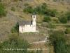 Vistes des del castell de Lladorre. Lladorre: Església parroquial de Sant Martí. Segle XVI.