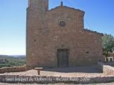 Castell de Lloberola - Església de Sant Miquel de Lloberola - Segle XVII.