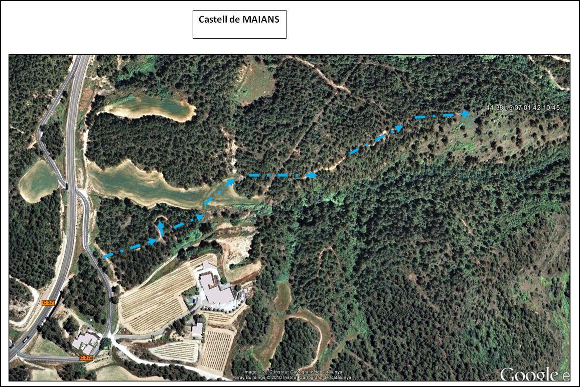 castell-de-maians-mapa-google-itinerari-4-resum
