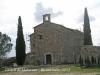 Castell de Malacara - Església de Santa Maria, la primera edificació que trobem a l\'arribar.