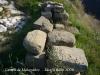 Castell de Malagastre. Hi ha un munt de pedres de bona mida i ben tallades.
