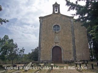 Castell de Malavella - Actual església de Sant Maurici.