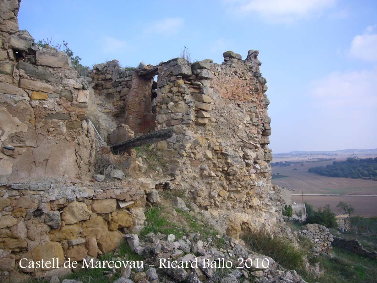 Castell de Marcovau – La Foradada