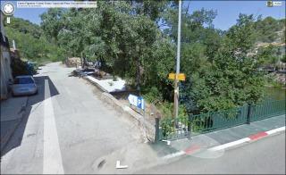 Castell de Molins - Itinerari - Captura de pantalla de Google Maps.