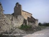 Montargull: Església de Sant Jaume.