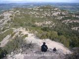 Castell de Montclar: vistes des del castell.