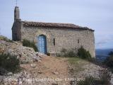 Castell de Montclar: Església de Sant Miquel.
